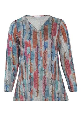 Paprika Longtunika »Longshirt bunt bedruckt«, aus warmen Material kaufen