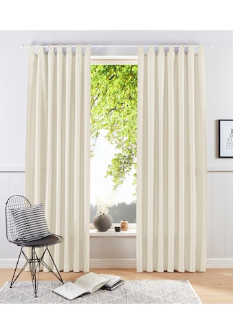 my home Vorhang »Raja«, Gardine, Fertiggardine, blickdicht kaufen