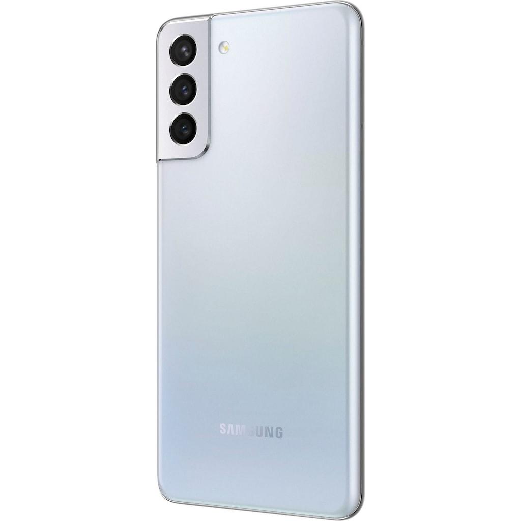 "Samsung Smartphone »Galaxy S21+ 5G«, (16,95 cm/6,7 "" 128 GB Speicherplatz, 12 MP Kamera)«, (16,95 cm/6,7 "", 12 MP Kamera)"