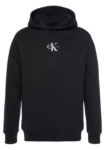 Calvin Klein Jeans Kapuzensweatshirt »CHEST MONOGRAM HOODIE« kaufen