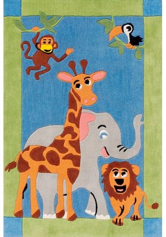 Kinderteppich, »Kids 1363«, Böing Carpet, rechteckig, Höhe 10 mm, handgetuftet kaufen