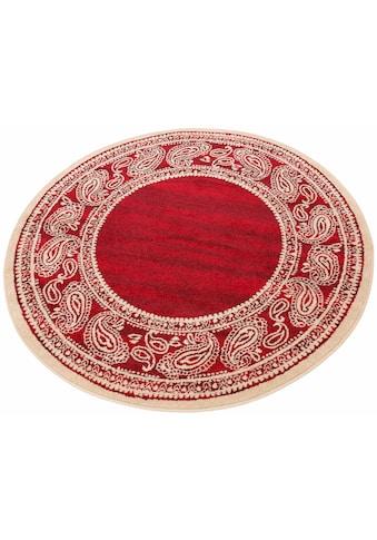 Teppich, »Maite«, my home, rund, Höhe 8 mm, maschinell gewebt kaufen