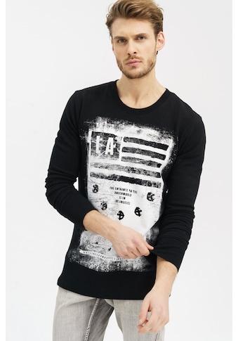 trueprodigy Sweatshirt »Khal«, mit grossem Frontprint kaufen