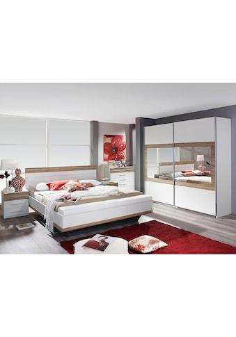 rauch BLUE Schlafzimmer-Set »Tarragona«, (Set, 4 St.), Bett mit Fussbank kaufen