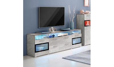 TRENDMANUFAKTUR Lowboard »Sarahmix«, Breite 182 cm kaufen