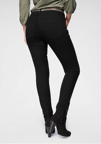 MAC Ankle-Jeans »Slim Chic«, Neue Form mit Reissverschluss am Saum kaufen