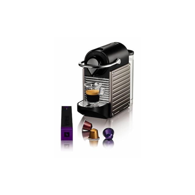 Nespressomaschine, Krups, »Pixie Titan Grau«