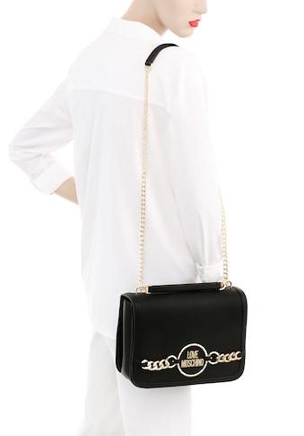 LOVE MOSCHINO Schultertasche, mit goldfarbenen Details kaufen