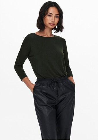 Only 3/4-Arm-Shirt »ONLGLAMOUR«, in lässiger Oversize-Form kaufen