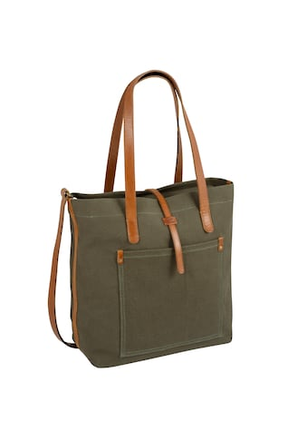 camel active Shopper »Nizza«, mit schicken Leder-Applikationen kaufen