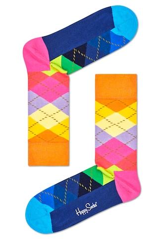 Happy Socks Socken »Argyle«, (1 Paar), im klassischen Rautenmuster kaufen