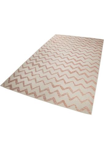 Esprit Teppich »Zig Zag«, rechteckig, 5 mm Höhe, In- und Outdoor geeignet, Wohnzimmer kaufen