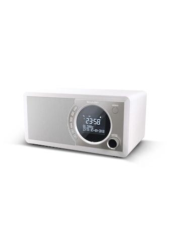 DAB+ Radio, Sharp, »DR - 450 Weiss« kaufen