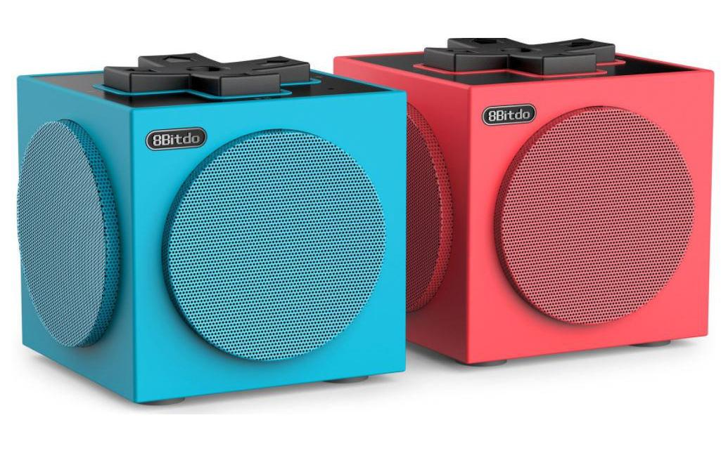 Image of 8bitdo Bluetooth-Speaker »TwinCube Blau Rot«