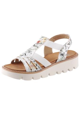Rieker Sandalette, mit sommerlichem Blütenmotiv kaufen