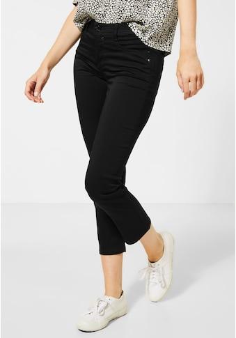 STREET ONE Slim-fit-Jeans, mit Crinkles kaufen