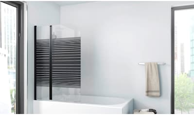 MARWELL Badewannenfaltwand »BLACK LINES« kaufen