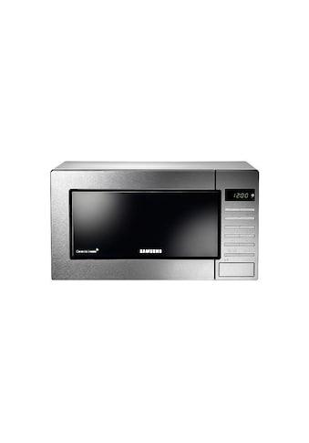 Mikrowelle, Samsung, »GE87MCSWS, Silberfarben« kaufen