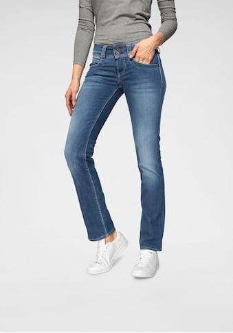 Pepe Jeans 5-Pocket-Hose »GEN«, in schöner Qualtät mit geradem Bein und Doppel-Knopf-Bund kaufen