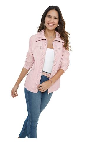 Classic Basics Jacke in täuschend ähnlicher Leder - Optik kaufen