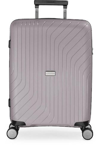 Hauptstadtkoffer Hartschalen-Trolley »TXL, vintage silber, 55 cm«, 4 Rollen kaufen