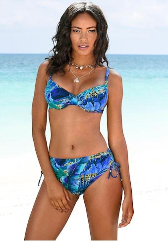 LASCANA Bügel-Bikini, mit höher geschnittener Hose kaufen