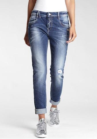 GANG 5-Pocket-Jeans »Gerda«, mit halb offener Knopfleiste kaufen