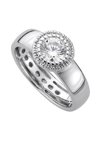 Lady Ring mit grossem Zirkonia kaufen