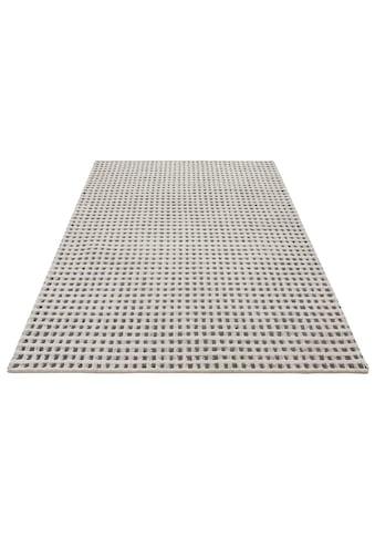 Theko Exklusiv Wollteppich »Kubat«, rechteckig, 18 mm Höhe, reine Wolle, Hoch-Tief... kaufen