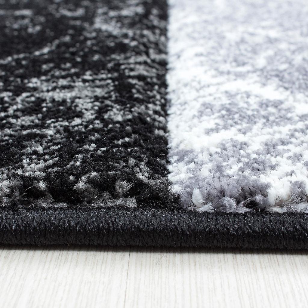 Ayyildiz Teppich »Hawaii 1330«, rechteckig, 13 mm Höhe, handgearbeiteter Konturenschnitt, Wohnzimmer