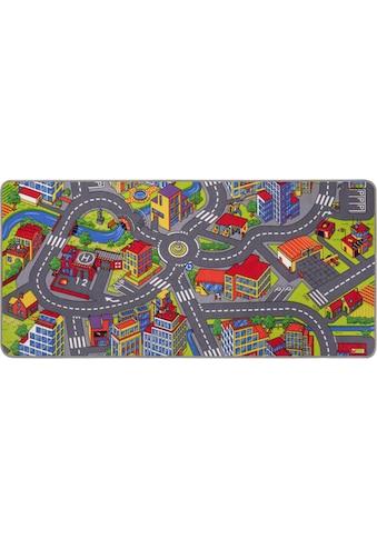 Kinderteppich, »Strasse«, Andiamo, rechteckig, Höhe 5 mm, maschinell getuftet kaufen