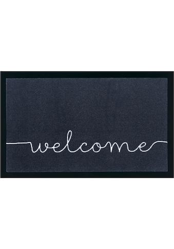 HANSE Home Fussmatte »Cozy Welcome«, rechteckig, 5 mm Höhe, Fussabstreifer,... kaufen