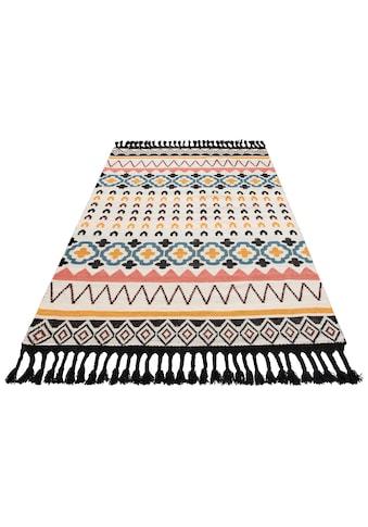 Guido Maria Kretschmer Home&Living Teppich »Peru«, rechteckig, 6 mm Höhe, Wollteppich, Wohnzimmer kaufen