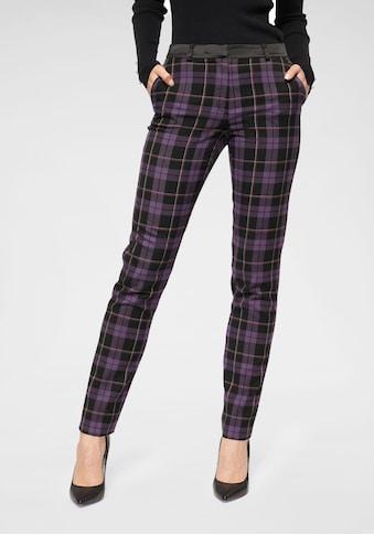 Laura Scott Anzughose, mit stylischem Karomuster kaufen
