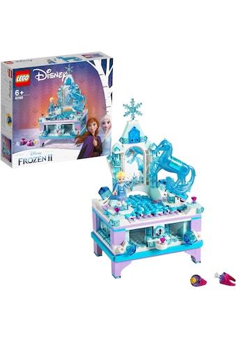 LEGO® Konstruktionsspielsteine »Elsas Schmuckkästchen (41168), LEGO® Disney Princess«, (300 St.) kaufen