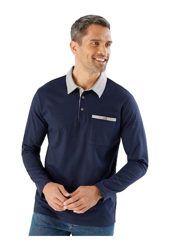 Poloshirt aus reiner Baumwolle kaufen
