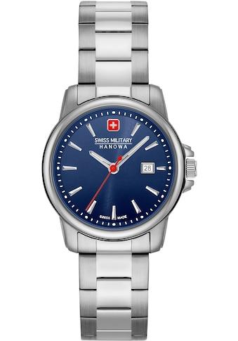 Swiss Military Hanowa Schweizer Uhr »SWISS RECRUIT LADY II, 06 - 7230.7.04.003« kaufen