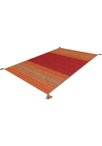 Arte Espina Teppich »Navarro«, rechteckig, 8 mm Höhe, reine Baumwolle mit Fransen,... kaufen