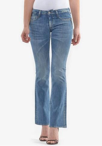 Le Temps Des Cerises Bootcut-Jeans »LEONITA«, mit Used-Effekten kaufen