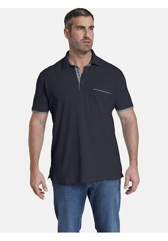 Jan Vanderstorm Poloshirt »MELKER«, luftiges Pikee aus Baumwolle kaufen