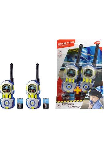 Dickie Toys Walkie Talkie »Walkie Talkie Police« kaufen