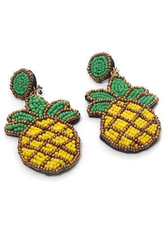 COLLEZIONE ALESSANDRO Paar Ohrclips »Ananas, O2606A  -  F84« kaufen
