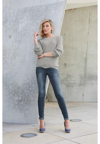 Arizona Skinny - fit - Jeans »im Biker - Look« kaufen