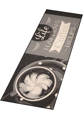 Küchenläufer, »Life Happens«, Zala Living, rechteckig, Höhe 8 mm, maschinell getuftet kaufen