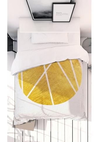 Juniqe Bettwäsche »Circle03«, In vielen weiteren Designs erhältlich kaufen