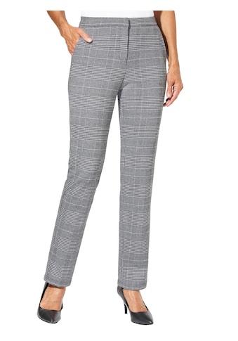 Lady Jersey - Hose mit Glencheck - Muster kaufen