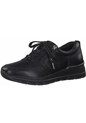 Tamaris Wedgesneaker »Pure Relax«, im trendigen monochromen Look kaufen