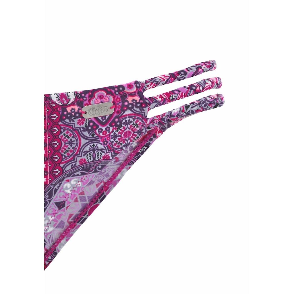Buffalo Bikini-Hose »Shari«, mit geflochtenen Bändern