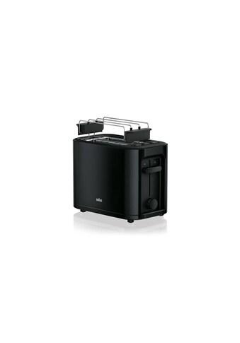 Toaster Schwarz, Braun, »PureEase HT3010« kaufen