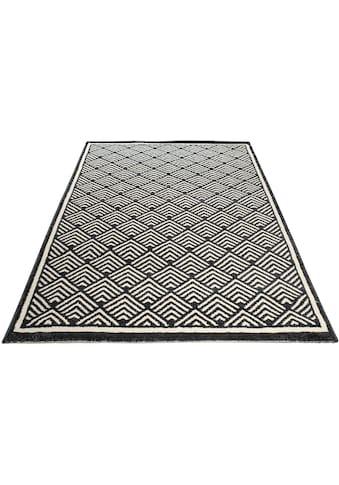 Home affaire Teppich »Cara«, rechteckig, 14 mm Höhe, Wohnzimmer kaufen